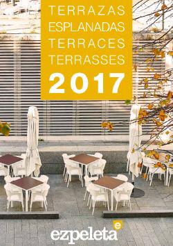 Krzesła i stoliki kawiarniane Ezpeleta kolekcja eko
