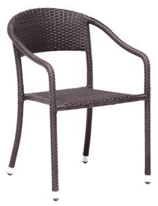Krzesło kawiarniane Capri technorattan Image