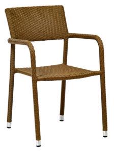Krzesło kawiarniane Niza technorattan Image