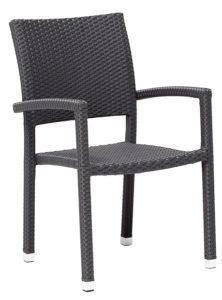 Krzesło kawiarniane Berlin technorattan Image