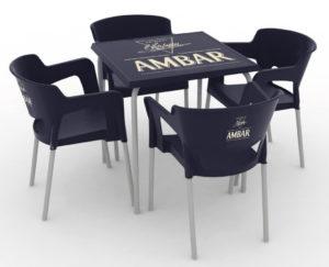 Zestaw nr 1: krzesło Cup + stolik Rodas Image