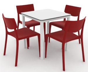 Zestaw nr 4: krzesło Town + stolik Monaco Image