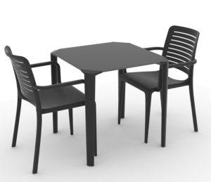 Zestaw nr 5: krzesło Park + stolik One Image